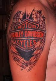 42 best harley davidson tattoos images on pinterest motorcycles