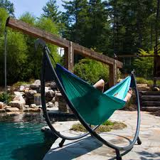 Outdoor Hammock With Stand Eno Solopod Hammock Stand Hammock Stand And Nest