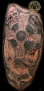 skulls celtic cross by 2face on deviantart
