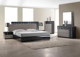 Modern Bedroom Furniture Atlanta Bedroom Modern Bedroom Set With Led Lighting System
