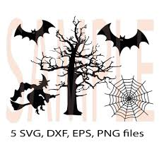 halloween bat png halloween witch bat tree spiderweb svg dfx eps png monogram