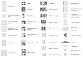 Floor Plan Icons by Plumbing And Piping Plans Solution Conceptdraw Com