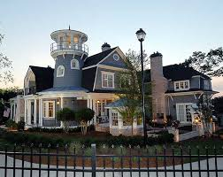 house with tower traditional shingle style classic american cottage with lighthouse