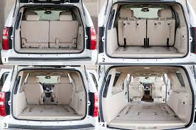 Ford Explorer Interior Dimensions 2013 Chevrolet Tahoe Our Review Cars Com