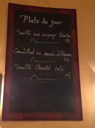 la cuisine de sle daily specials menu picture of la cuisine de philippe