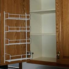 kitchen cabinet door organizers kitchen cabinet door storage racks kitchen cabinet door storage