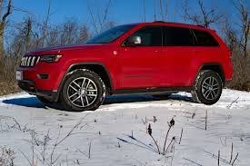 jeep grand cherokee 2017 jeep grand cherokee trailhawk review autoguide com news
