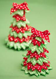 ribbon tree and craft ideas festive ribbon trees