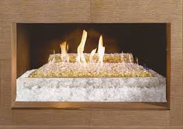 outdoor gas fire pit glass rocks beads modern fire pit rocks