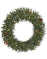 deal alert 30 pre lit imperial pine wreath warm white led lights