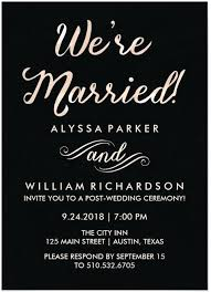 reception only invitations amazing casual wedding reception invitations for casual wedding