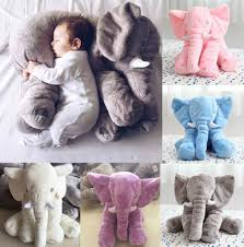 elephant pillow baby toys elephant stuffed plush pillow sleeping