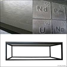 Periodic Table Coffee Table Periodic Concrete Coffee Table By Dewulf Is A Formula For