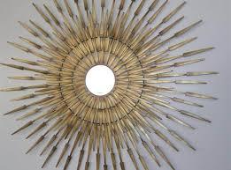 decorating good sunburst mirror wall decor ideas for family room