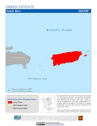 Where Is Puerto Rico On The Map Maps Global Rural Urban Mapping Project Grump V1 Sedac