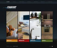 trendy campaign interior design website with interior designing