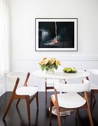 why i u0027m loving white walls room dining room table and interiors