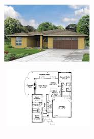 bungalow house plan 59713 total living area 1500 sq ft 3