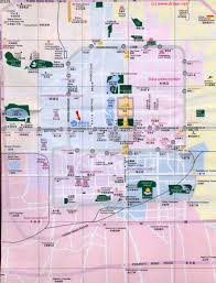 Beijing Map Beijing City Map 1 B Zoom City Centre In General By China Report