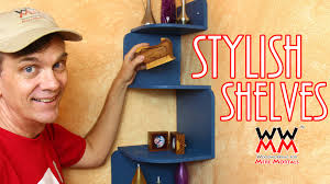 How To Make Wood Shelving Units by Easy To Make Corner Shelves For Your Home Only Need Basic Tools