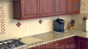 giallo fiorito granite with oak cabinets giallo ornamental granite kitchen countertops ii by marble com youtube