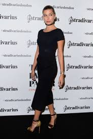 hailey baldwin stradivarius cocktail party ss 2017 in london