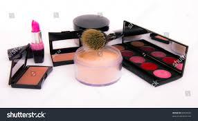 makeup artist equipment make equipment isolated on white background stock photo 83650327