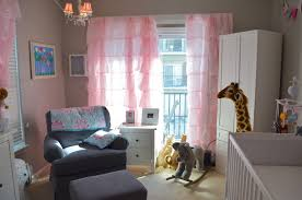 Nursery Girl Curtains by Curtains Beige And Pink Curtains Decorating Diy Striped Painted