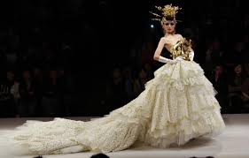 couture wedding dresses china fashion week haute couture wedding dresses grace the r