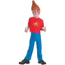 deluxe jimmy neutron child costume