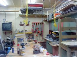 chad u0027s garage workshop the wood whisperer