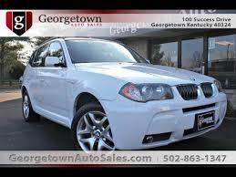 bmw 2006 white used 2006 bmw x3 awd white for sale georgetown auto sales ky