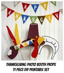 thanksgiving photo booth thanksgiving photo booth props photo props printable 11