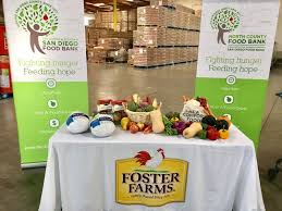cushman san diego food bank receives 640 turkeys for