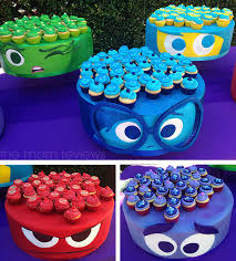 inside out cakes starstruck on the purple carpet for the inside out premiere