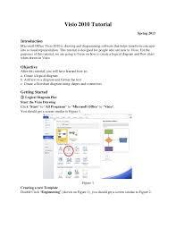 visio tutorial 2013