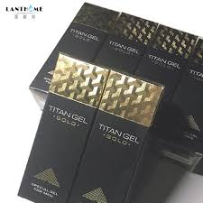 5pcs new titan gel gold provocative penis enlargement cream retarder