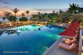 5 best beachfront hotels in legian beach great hotels right on