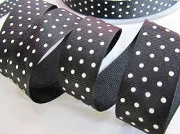 black and white polka dot ribbon embellishment world ribbon grosgrain polka dot size 7 8