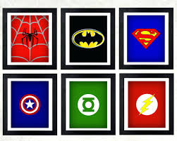 wall ideas superhero wall art superhero wall art etsy superhero