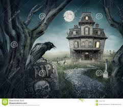 spooky house clipart haunted house royalty free stock images image 31241159