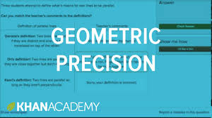 geometric precision practice introduction to euclidean geometry