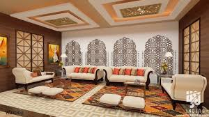ethnic rajasthani indian hotel 3d animation walk through rendering