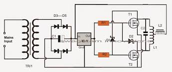 How Induction Cooktop Works Simple Induction Heater Circuit Plate Cooker Circuit