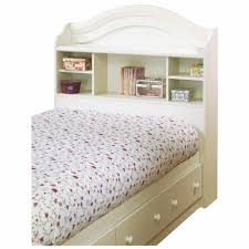 beautiful white twin storage bed with bookcase headboard 82 on