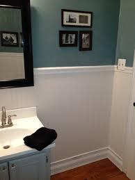 bathroom chair rail blogbyemy com