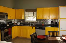 Yellow Kitchen Cabinet Do We Need To Repaint Our Yellow Kitchen Cabinets For Sale Help
