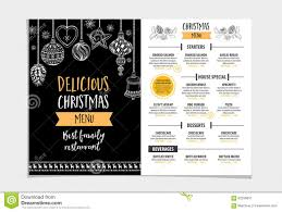 christmas party invitations free templates christmas party invitation restaurant food flyer stock vector