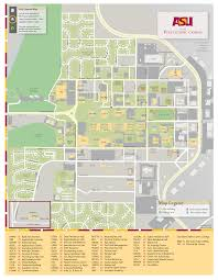 Mesa College Map Asu Graphic Information Technology Map