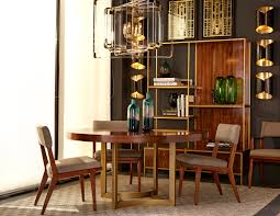 a modern mid century dining room from maison 55 featuring the